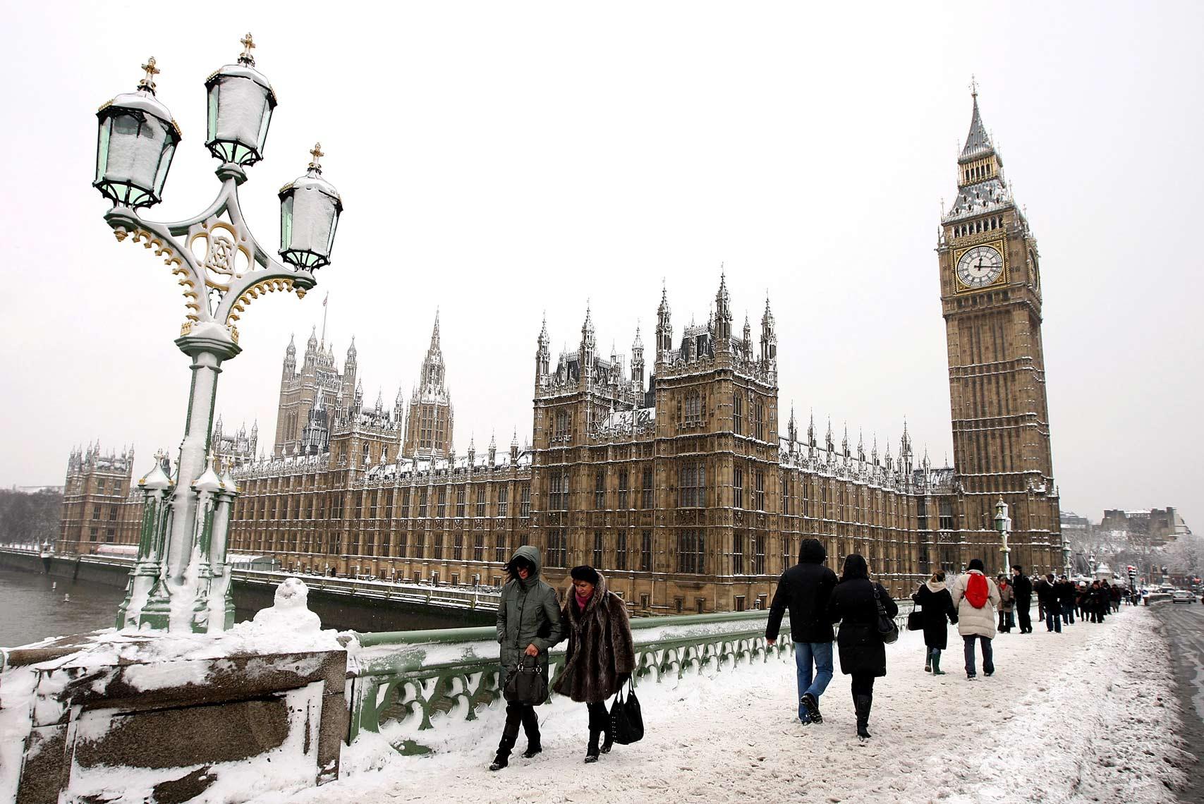 придет своему лондон в январе фото этого
